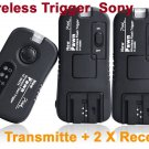 TF363 Flash Trigger Sony 1Transmitter 2 Receiver
