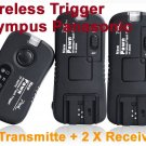 Pixel TF-364 Flash Trigger for Olympus Panasonic 1 Transmitter 2 Receiver