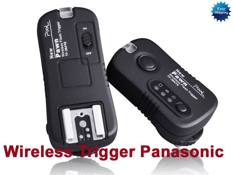 Wireless Flashgun Remote Trigger TF-364 for Panasonic