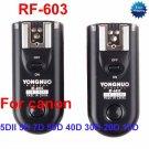RF-603-C3 Radio Flash Trigger for Canon 5DII 5D 7D 50D 40D 30D 20D 10D