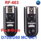 RF-603-N2 Radio Flash Trigger for nikon D70S D80 MC-DC1