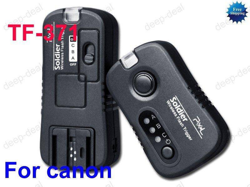TF-371 Wireless Grouping Flash Trigger Canon 550D 500D 450D 350D 1000D