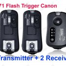 TF-371 Flash Grouping Trigger for Canon with 2 Receivers
