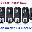TF372 Flash Trigger for Nikon 1 Transmitter 4 Receiver