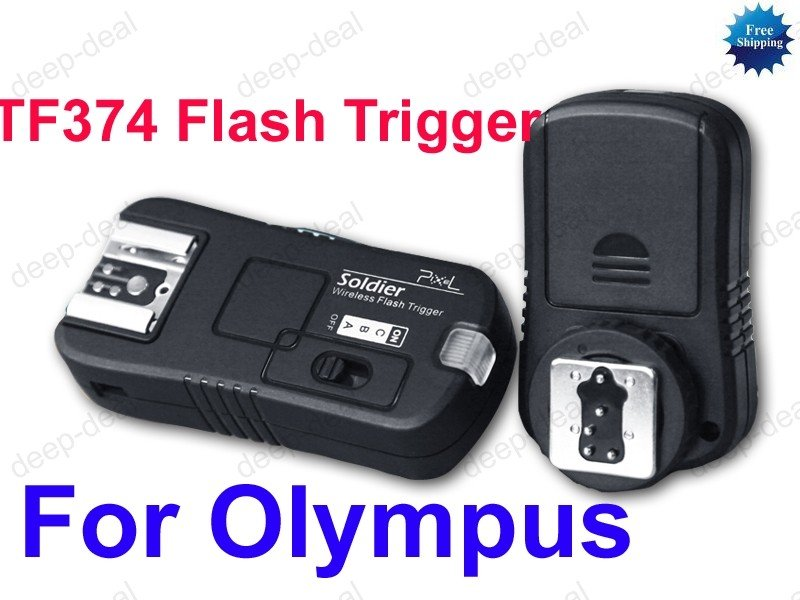 TF-374 Flash Trigger for Olympus E550 E520 E510 E450 E420 E410 E400