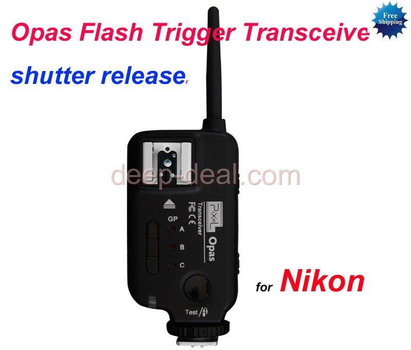 Opas Flash Trigger Transceiver for Nikon speedlite Trigger shutter release