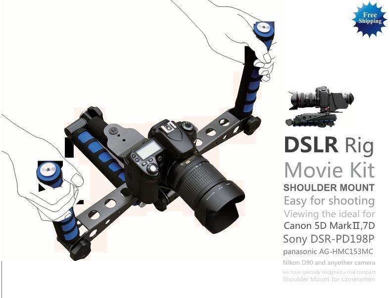 DSLR Rig Movie Kit Shoulder Mount For D7000 D90 D3100