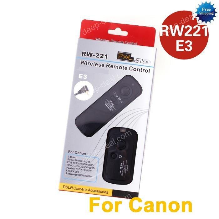 RW-221 Wireless Shutter Remote CANON Rebel T2i T2 XTi