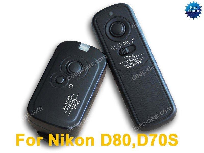 RW-221 Wireless Remote Shutter for Nikon D80 D70S