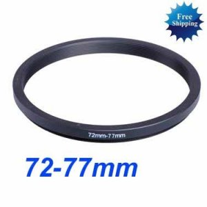 72mm-77mm 72-77 mm 72 to 77 Step Up Ring Filter Adapter