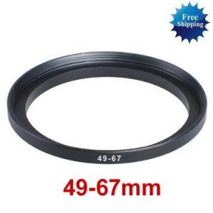 49mm-67mm 49-67 mm 49 to 67 Step Up Ring Filter Adapter