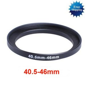 40.5mm-46mm 40.5-46 mm 40.5 to 46 Step Up Ring Filter Adapter