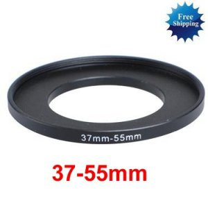 37mm-55mm 37-55 mm 37 to 55 Step Up Ring Filter Adapter