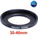 30mm-46mm 30-46 mm 30 to 46 Step Up Ring Filter Adapter