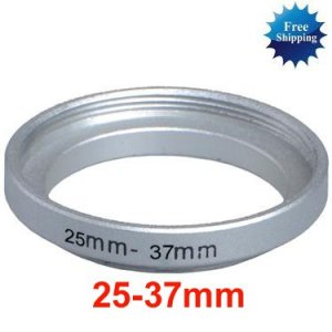 25mm-37mm 25-37 mm 25 to 37 Step Up Ring Filter Adapter