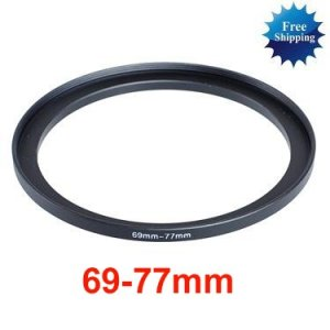 69mm-77mm 69-77 mm 69 to 77 Step Up Ring Filter Adapter
