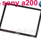 GGS LCD Optical Glass Screen Protector for Sony a200 camera camera camera