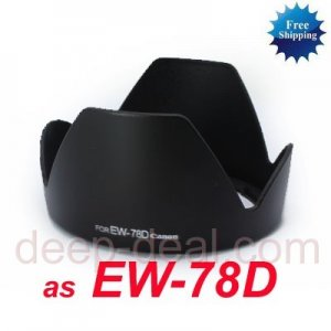 EW-78D Lens Hood for CANON 28-200mm f 3.5-5.6 USM LENS
