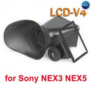 """2.8X viewfinder extender screen magnifier for 3 """" inches LCD Sony NEX3 NEX5 DSLR"""