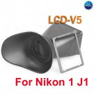V5 LCD Viewfinder Screen Magnifier for Nikon 1 J1 DSLR Camera