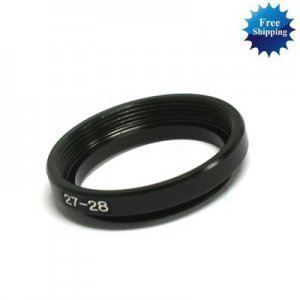 27mm-28mm 27-28 mm 27 to 28 Step Up Ring Filter Adapter