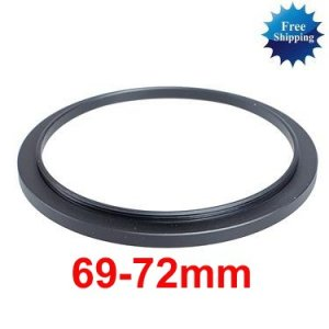 69mm-72mm 69-72 mm 69 to 72 Step Up Ring Filter Adapter