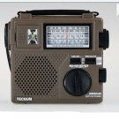 TECSUN GREEN-88 EMERGENCY HAND CRANKING AM/FM/SW RECEIVR