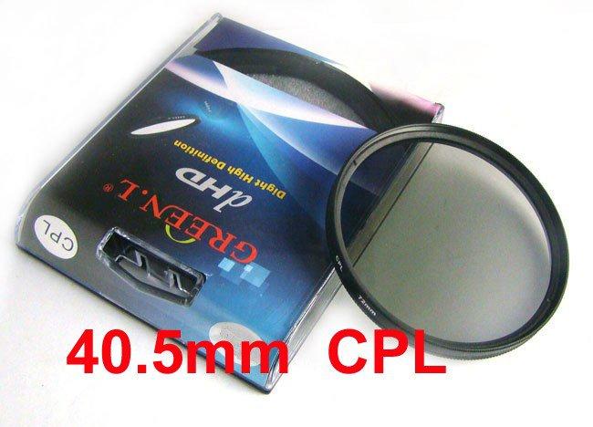 40.5 mm Circular Polarizing C-PL PL-CIR CPL Filter