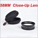 XPRO-F260 58mm Close-Up Lens for canon nikon sony Olympus Pentax