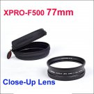 XPRO-F500 77mm Close-Up Lens canon nikon sony Olympus Pentax