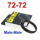 Male 72mm-72mm 72-72 mm Macro Reverse Ring / reversing