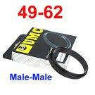 Male 49mm-62mm 49-62 mm Macro Reverse Ring / reversing
