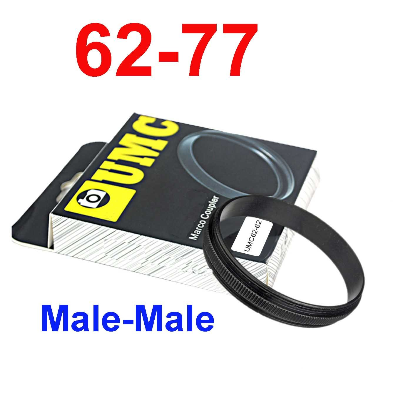 Male 62mm-77mm 62-77 mm Macro Reverse Ring / reversing