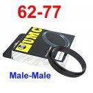 Male 62mm-77mm 62-77 mm Macro Reverse Ring / reversing