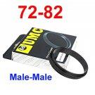 Male 72mm-82mm 72-82 mm Macro Reverse Ring / reversing