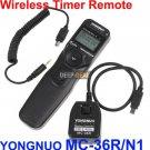 YONGNUO MC-36R/N1 Wireless Timer Remote NIKON D700 D300S D200