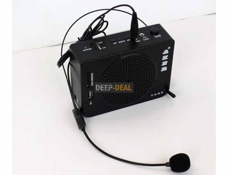 Aker Voice Amplifier Mp3 Player FM Radio MR-AK28 with Remote Portable