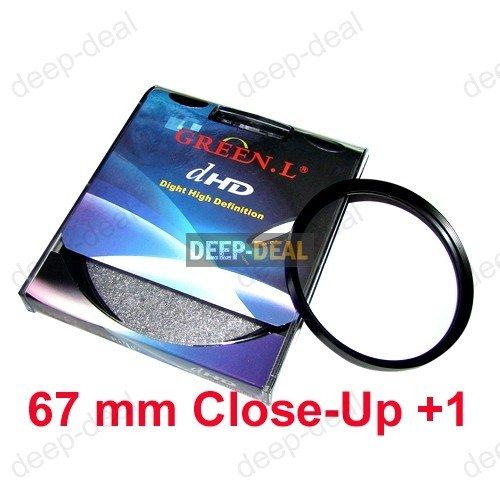Close-Up +1 67mm 67 mm Macro Close Up Filter