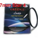 Green.L 67mm Star 4 Point 4PT Filter for 67 mm LENS