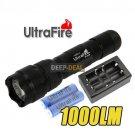 1000LM Ultrafire CREE XM-L T6 5 Mode LED Flashlight set