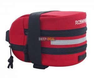 Bicycle Saddle Bag Bicycle Seat Bag Red