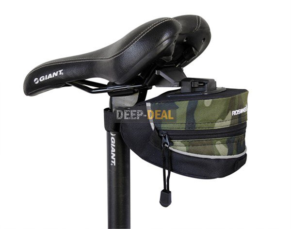 Cycling Bicycle Bike Saddle Seat Bag Quick Release