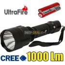 UltraFire CREE XML T6 LED Flashlight Torch 5 Mode 18650 Charger