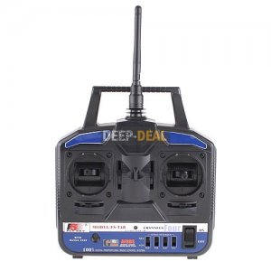 FS-T4B 4CH Radio Model RC Transmitter & Receiver 2.4G