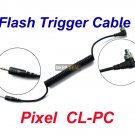 CL-PC Male PC Sync flash Cable for TF-361 TF-362 TF-363 TF-364