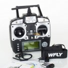 WFLY WFT07 2.4G 7CH Transmitter with 2 WFR07S Receivers