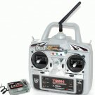 2.4GHz Radio Control System 6 Channel TX RX 2.4G Spring TG661