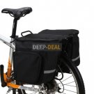Saddlebag Bicycle Pannier double rear pannier bag 45L
