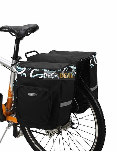 Bicycle Saddle Pannier Bag Shopping bag
