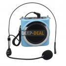 ASiNG S1001 Voice Amplifier for Teachers Guides Blue